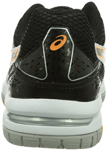 Asics Gel-rocket 7, Chaussures de Volleyball Homme Blanc (White/black/vermilion)