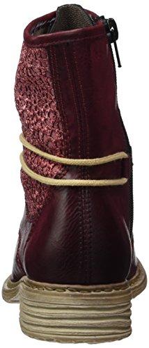 Rieker Damen Z2118 Kurzschaft Stiefel Rot (Wine/scala / 35)