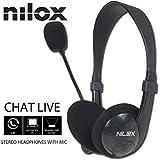 Nilox 10NXCM0000003 - Auriculares estéreo con