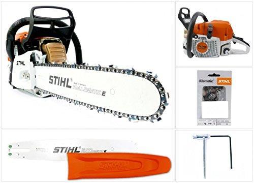 Stihl Sega a catena / motosega MS 362 C (1140-011-3075) con lunghezza di taglio da 37 cm e catena da 1,6 mm
