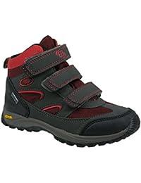 7d00fb6fb6da63 Brütting Snowfun V Kids Children s Winter Boots Winter Shoes Grey Red