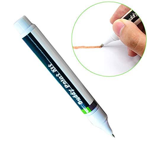 ypypiaol Leitfähige Tinte Stift, Elektronische DIY Schaltung Reparatur Ziehen Sofort Magische Tinte Stiftwerkzeug, für Studenten Kinder DIY Maker - 1 Stck Golden Ink (Einfach Tinte)