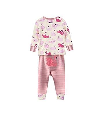 Hatley Mini Organic Cotton Long Sleeve, Conjuntos de Pijama para Bebés