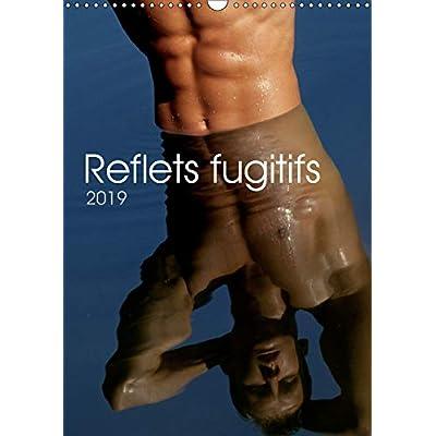 Reflets fugitifs 2019: 12 pages consacrees au corps masculin en reflet