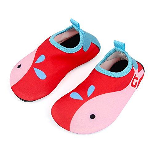 Beinou Kinder Wasser Schuhe Kleinkind Schwimmen Schuhe Mädchen Jungen schnell trocknend Barfuß Aqua Socken Schuhe für Pool Beach Surf Yoga
