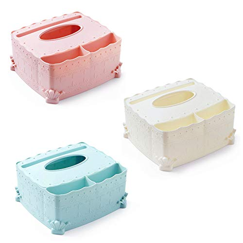 LXQ Europäische Kunststoff Tissue Box/Haushalt Couchtisch Tablett/Kreative Wohnzimmer Serviette Aufbewahrungsbox/Fernbedienung Aufbewahrungsbox Bad Papier Handtuchhalter