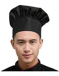 Fumee Kitchen supply elastico regolabile catering adulti cucinare cappello  da pasticcere chef berretto cappello da cuoco 331f35c91c50
