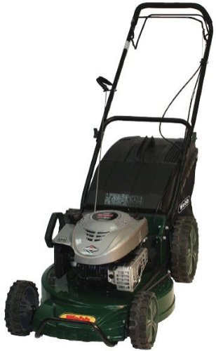 Webb 19in/48cm 3-in-1 Alloy Deck Petrol Rotary Lawnmower