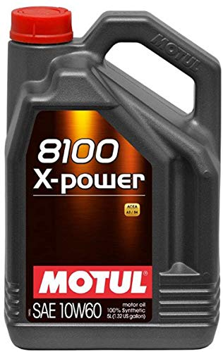 Motore Olio lubrificante 8100X Power 10W605L