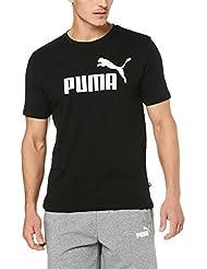 PUMA Ess Logo Maglietta, Uomo