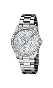 Lotus 18134/1 - Reloj de pulsera Mujer, Acero inoxidable, color Plateado