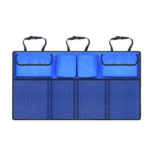 Universal Auto Zubehör Stamm Aufbewahrungstasche Auto Oxford Tuch Multi-Tasche Lagerung Faltbare Lagerung Schutt Sortierwerkzeug,Blue - Leder-stamm-tisch