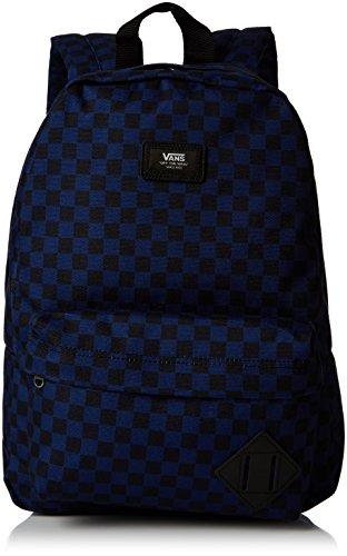 Vans New SKOOL Backpack Boys Mochila Tipo Casual, 39 cm, 17 Liters, (Blue Depths)