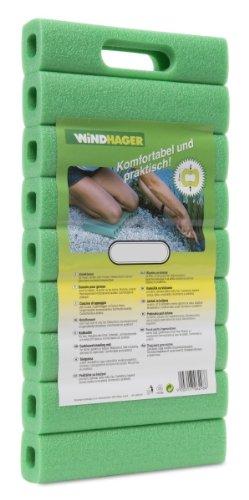 Windhager 06298 Basic Coussin de genoux Vert 20 x 41 cm