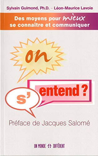 On s'entend ?