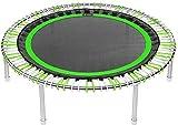 bellicon Premium Mini-Trampolin, grün/Weiss, ø 125 cm, Klappbeine, bis 200 kg, inkl. umfangreichem...