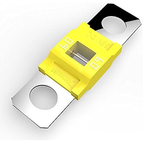 Auprotec® MIDI fusible de alto voltaje atornillable 40A - 100A selección: 60A Ampere amarillo, 1 pieza