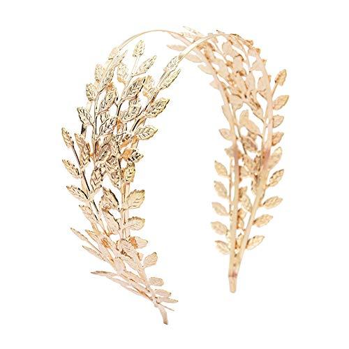 ZJHSS Mode-Blatt-Stirnband lässt Kopfband Hochzeitsfotografie Braut-Kopfbedeckung\r。