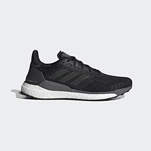 adidas Solarboost 19, Running Shoe Hombre-Zapatillas de Deporte, Core Black/Carbon/Grey, 44 2/3 EU