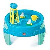 Step2 Tavolo per Giochi Acquatici Bambini Esterno Mulino ad Acqua Blu 753800