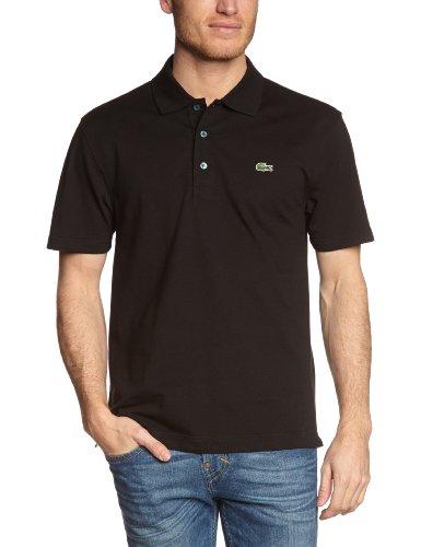 Lacoste Herren Poloshirt L1230-00, Einfarbig, Gr. XXX-Large (Herstellergröße: 56)(T8), Schwarz (031 NOIR)