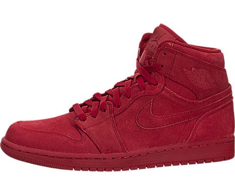 Jordan AIR JORDAN 1 RETRO HIGH mens basketball-shoes 332550-603_10.5 - GYM RED/GYM RED (Retro Air High 332550 Jordan 1)
