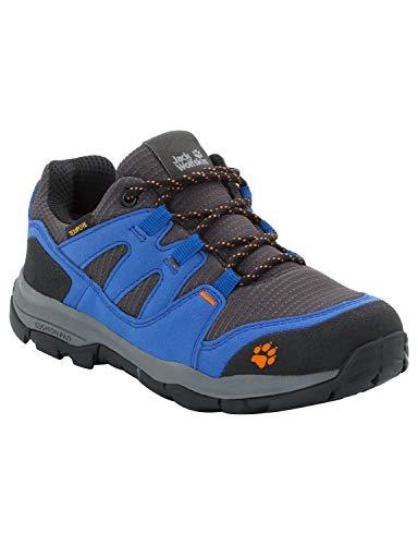 Jack Wolfskin Unisex-Kinder Mtn Attack 3 Texapore Low K Trekking-& Wanderhalbschuhe, Blau (Vibrant Blue 1615), 29 EU