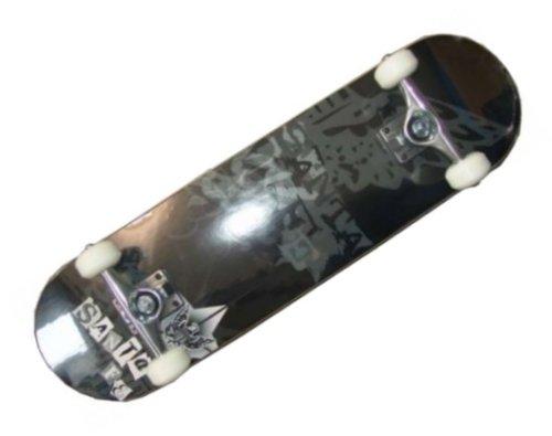 Santa Fe Skateboard Komplettboard Black - Profi Board komplett - 8.0 inch