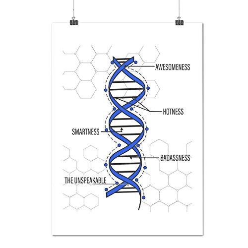 genetisch-narzissmus-mensch-dna-mattes-glanzende-plakat-a1-84cm-x-60cm-wellcoda
