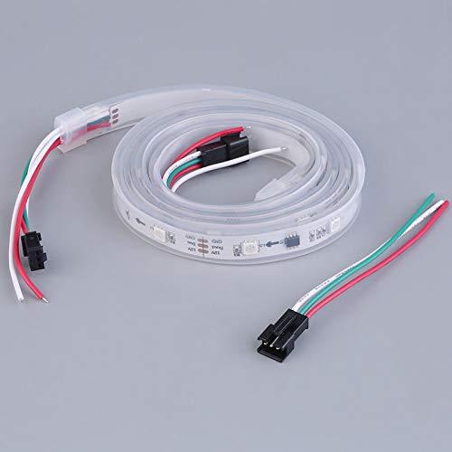 FFXXCC Treppe Dekor Streifen Licht Wasserdicht Adressierbar Tube Shell Tv Band Lampe Colorfull Shell-tv