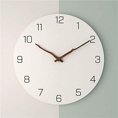 guyuell 16 Zoll Vintage Twig Form Zeiger Wanduhr Wohnzimmer Moderne Dekor Kunst Uhren Schlafzimmer Mute Quarzuhr, A -