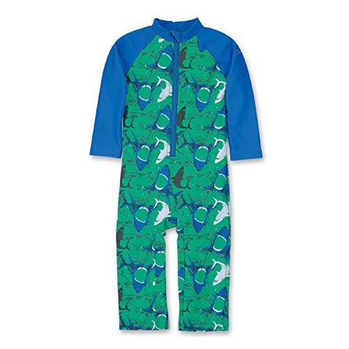 Sterntaler Kinder Jungen Schwimmanzug mit Windeleinsatz, Einteiler, UV-Schutz 50+, Alter: 18-24 Monate, Größe: 92, Pfefferminz