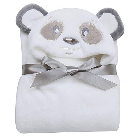 Bébé Panda - Sortie de bain a capuche 3D animaux
