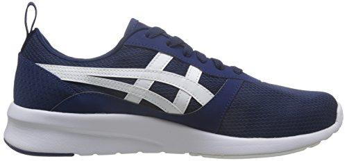 ASICS Uomo Nero/Carbon Lyte Jogger Sneaker blu indaco/bianco