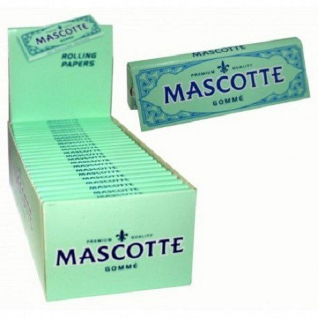 Mascotte Gommè Cartine Corte 10 pacchetti