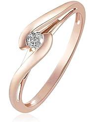 Goldmaid - So R3574RG - Bague Femme - Or rose 585/1000 (14 carats) 2.1 gr - Diamant
