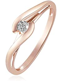 Goldmaid - So R3574RG - Bague Femme - Or rose 585/1000 (14 carats) 2.1 gr - Diamant