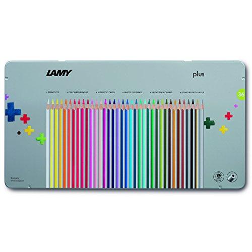 Lamy 1226065 Farbstift Plus, Modell Nummer 530, 36-er Metallbox