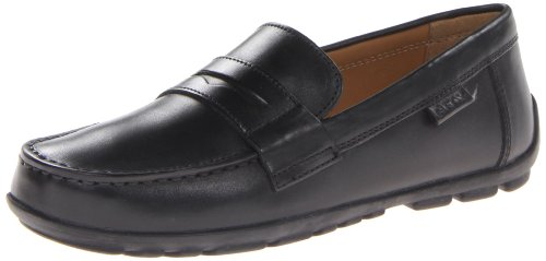 Geox Boys Fast Loafers J34G5F00043C9999 Black 8.5 UK Child, 26 EU