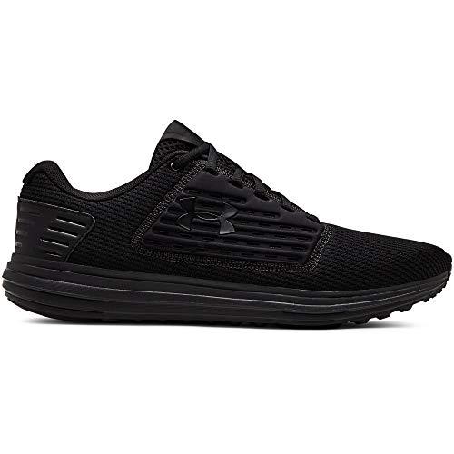 Under Armour UA Surge SE, Zapatillas de Running para Hombre, Negro (Black/Black/Black (003) 003), 40 EU