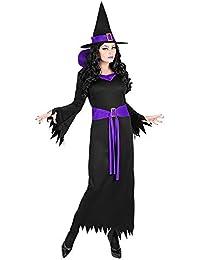Widmann Srl Donna WIDMANN Strega Vestito Cappello Taglia S Costumi Completo  Adulto 304 6fd8cff7767