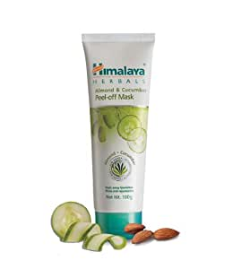 Himalaya Herbals Almond and Cucumber Peel-Off Mask, 100gm