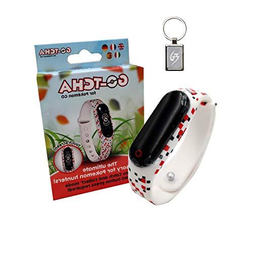 Preisvergleich Produktbild Gam3Gear Gotcha Taschenarmband mit automatischem Verschluss für Pokemon Go mit gratis Schlüsselanhänger