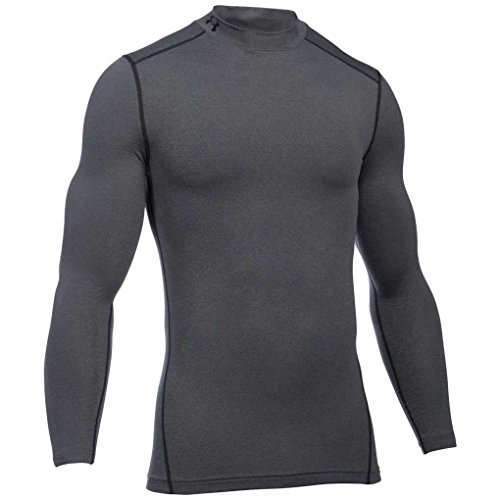 Under Armour Herren UA CG Armour Mock Fitness-Sweatshirts, Carbon Heather, XL