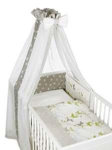 geuther 4144 310 set berceau papillon ciel de lit tour de lit parure de lit 40 x 60. Black Bedroom Furniture Sets. Home Design Ideas