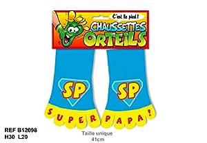 Chaussettes à Orteils 41 cm SP Super Papa Taille Unique