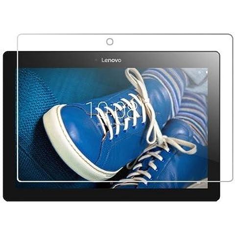 Theoutlettablet® Cristal Templado para Tablet Lenovo Tab 2 A10-30F. Protección delantera Tempered
