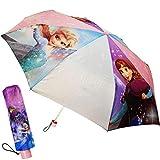 alles-meine.de GmbH Taschenschirm / Regenschirm - Kinderschirm - Disney die Eiskönigin - Frozen - ø 100 cm - faltbar - großer Kinderregenschirm - Faltregenschirm Schirm / für Mäd..