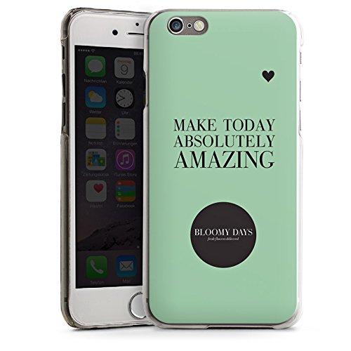 Apple iPhone 5s Housse Étui Protection Coque Fleurs amour C½ur Phrases CasDur transparent