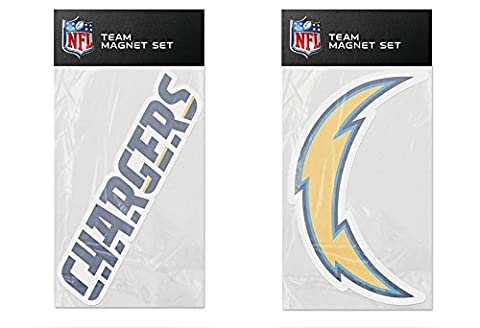 NFL San Diego Chargers 2-Pack Magnet Set